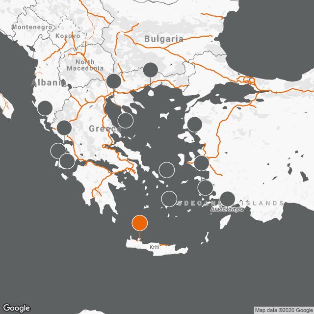 Αεροδρόμιο Χανίων «Ιωάννης Δασκαλογιάννης» CHQ map