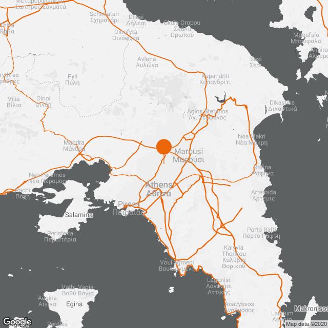 Yπογειοποίηση τμήματος Πατρ. Κωνσταντίνου στο Δήμο Ν. Φιλαδέλφειας-Χαλκηδόνας map