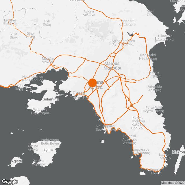 Θησεύς Κέντρο Αποκατάστασης και Αποθεραπείας map